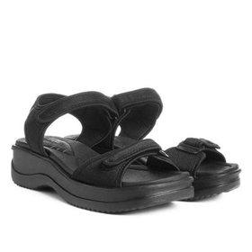 48beae0750 Papete Azaleia Regulagem Velcro Feminina