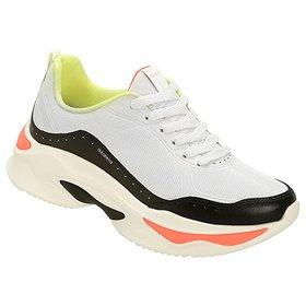 c64bcf7df Tênis Azaleia Chunky Sneaker Feminino
