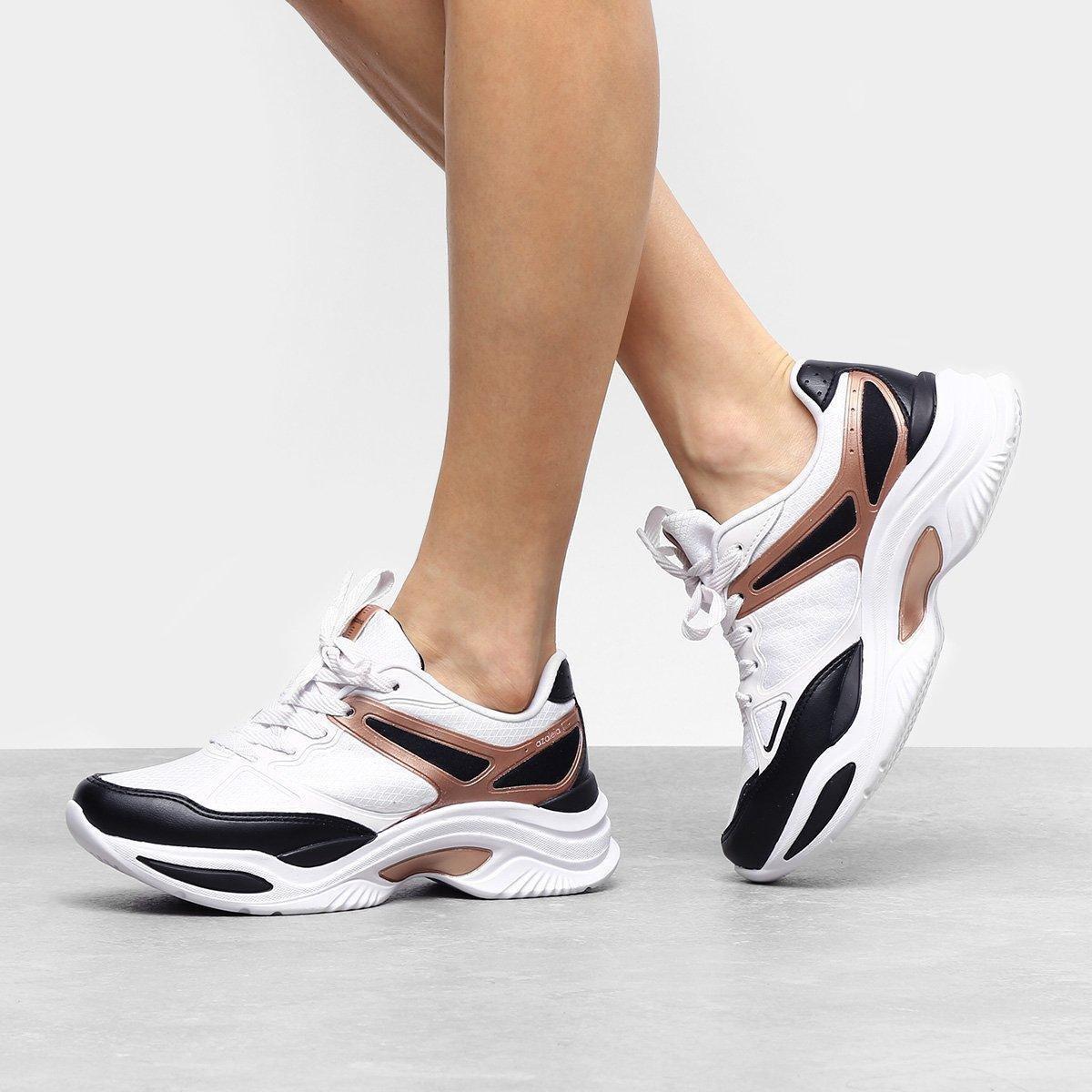 d047bef6a4 Tênis Azaleia Chunky Sneaker Feminino - Branco - Compre Agora